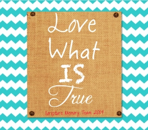Love What Is True 2014